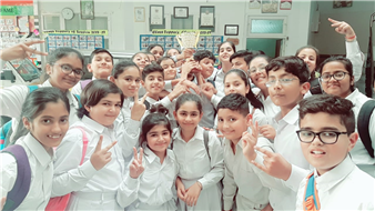 Our young and talented Chintelians did wonders again The Chintels School choir group bagged the trophy for the 2nd Runner-up in the ICSE/ISC Inter -School Choir competition outshining 26 other schools of the city. A moment of celebration for all. Heartiest congratulations to the school choir and the faculty. (Ratanlal Nagar)