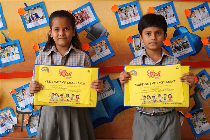 Yippee Art Competition Winners (Ratanlal Nagar)