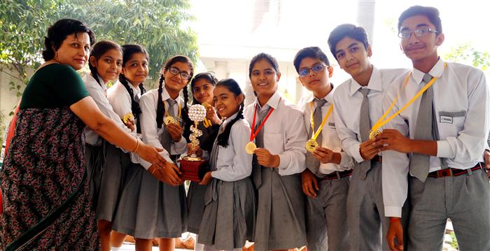 Grow India Ist level Winners (Ratanlal Nagar)