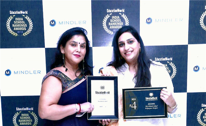 Its Celebration time again for The Chintels School,Ratanlal Nagar! The school has been ranked as the 5th Best school in Kanpur by the Education World India School Ranking 2017. The award was received by the School Principal Ms Nandita Basak on 23rd September 2017. For the past nine years Education World has been publishing the Annual Education World India School Rankings with C fore — the well-known Delhi-based market research and opinion polls a (Ratanlal Nagar)