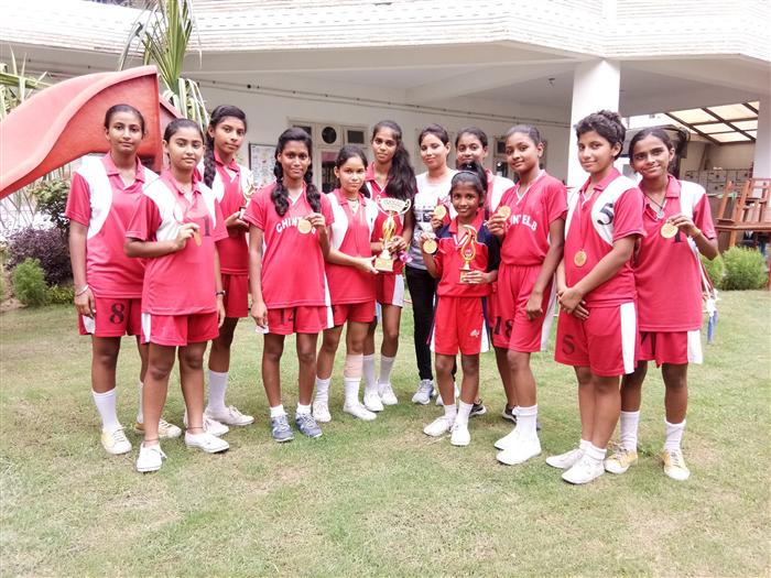 Winners of Inter School ICSE (U-17) Kho-Kho Championship 2018 (Ratanlal Nagar)