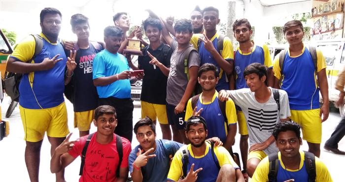 ISC Inter School Football Tournament Runner Up (Ratanlal Nagar)