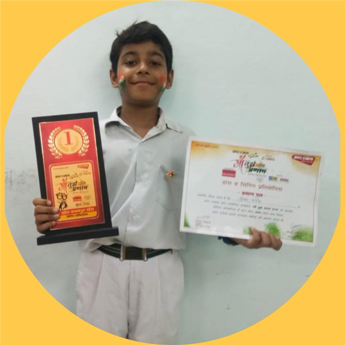 Pushkar Arora - Winner of Open House Solo - Singing Competition Organised by Amar Ujala (Ratanlal Nagar)