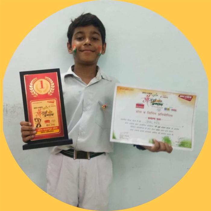 Pushkar Arora - Winner of Open House Solo - Singing Competition Organised by Amar Ujala (Ratanlal Nagar)