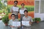 Shubham Gautam,Charu Pnadey aSimran Sing and Saiyam Bhatngar.First in ICSE and ISC Inter-School Frank Anthony Memmorial English Debate (Ratanlal Nagar)