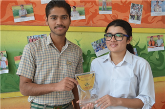 Third in Inter School ISC Debate Competition. Simran Singh and Saiyam Bhatnagar (Ratanlal Nagar)