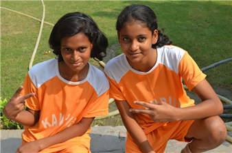 Junior Open State Kho - Kho Tournament. Shivani Singh and Ananya Singh (Ratanlal Nagar)