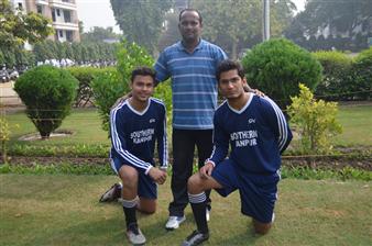 Selected for UP Football Team (Senior) Rohan and Yash (Ratanlal Nagar)