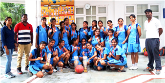 Inter School ICSE / ISC Girls Basketball Tournament 2017 Runner Up (Ratanlal Nagar)