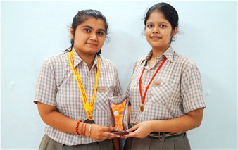 Our young debaters Riya Rai of Class X and Aishwarya Anand of Class XI once again made the school proud by breezing through the State Level Inter School English Debates organized by the ICSE Council. Riya Rai was adjudged the Best Speaker at The Frank Anthony Memorial All India Inter School Debate (Stage II) held Dr VSPS, Lucknow while Aishwarya Anand bagged the second Runners up Trophy at the Inter School ISC State Level English Debate held at U (Ratanlal Nagar)