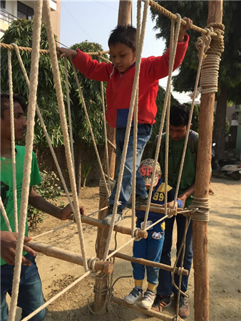 End of Second Term, #time for an adventure capsule #RockSports The Chintels School , Ratanlal Nagar #walk the #talk set goals and beat them. Rocksports aims at fostering