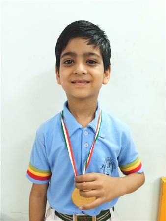 Ashwick Anand - III C Medal of  Distinction - Cyber Olympiad Level - I (Ratanlal Nagar)