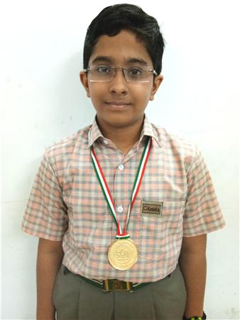 Jayant Bhola - VII A Medal of  Distinction - Cyber Olympiad Level - I (Ratanlal Nagar)