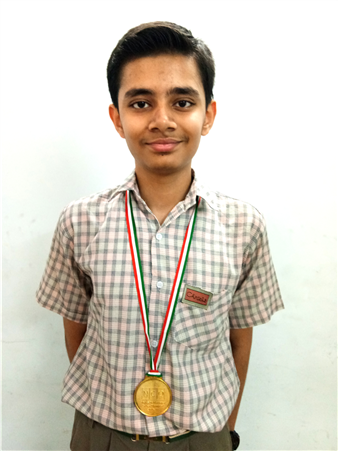 Yash Katiyar - VIII A Science Olympiad Level - II (Certificate of Zonal Excellence) (Zonal Rank 20th, International Rank - 183) (Ratanlal Nagar)