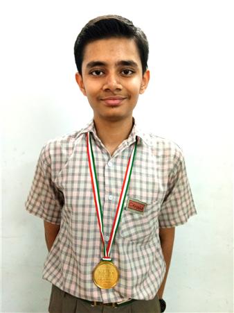 Yash Katiyar - VIII A Science Olympiad Level - II (Certificate of Zonal Excellence) (Zonal Rank 20th, International Rank - 183) (Ratanlal Nagar)