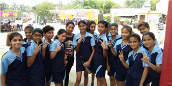 Winners of 7th Block National Junior Kho-Kho Championship - 2018 (Ratanlal Nagar)