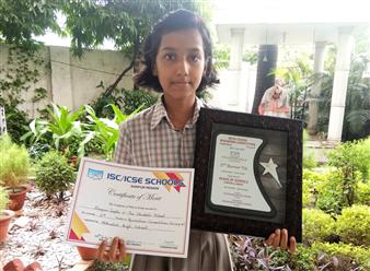 Manjari Gupta 2nd Runner Up Recitation COmpetition (Ratanlal Nagar)