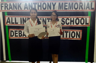 Winners of Frank Anthony Memorial All India Inter - School Debate Competition (Ratanlal Nagar)
