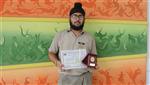 Amandeep Singh. Third in Inter School Declamation (Ratanlal Nagar)