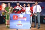 Balpreet,Ayush and Sarvagya. Firts in Inter school Derek O Brein Quiz (Sr.) (Ratanlal Nagar)