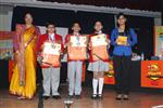 Raghav,Saksham and Adhya. Second in Inter School Derek O Brein Quiz (Jr.) (Ratanlal Nagar)