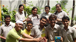 Shubham,Balpreet,Sujoy,Yash,Shubham,Saiyam,Akansha,Simra,Eshal adn Charu, First in Inter School Fiesta Literica( English Festival) (Ratanlal Nagar)