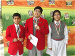 Class VI Olympiad winners (Ratanlal Nagar)
