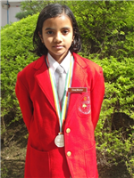 Anuja. City level first in Cyber Olympiad. (Ratanlal Nagar)