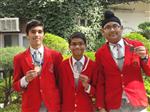 Class VIII winners of Cyber Olymiad (Ratanlal Nagar)